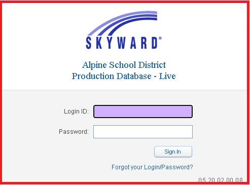 Skyward Alpine Login