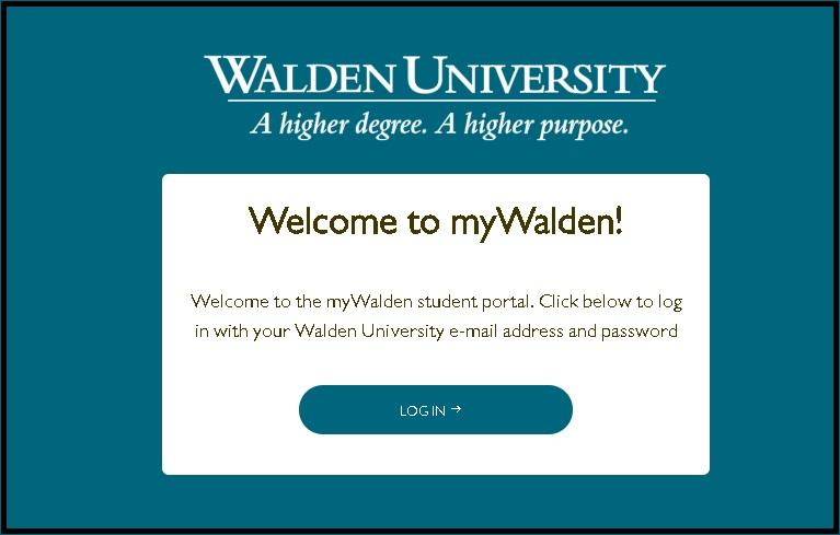 Walden University Student Portal
