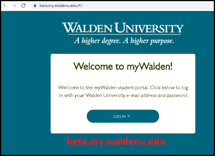 walden university student portal login https://beta.my.waldenu.edu/#/