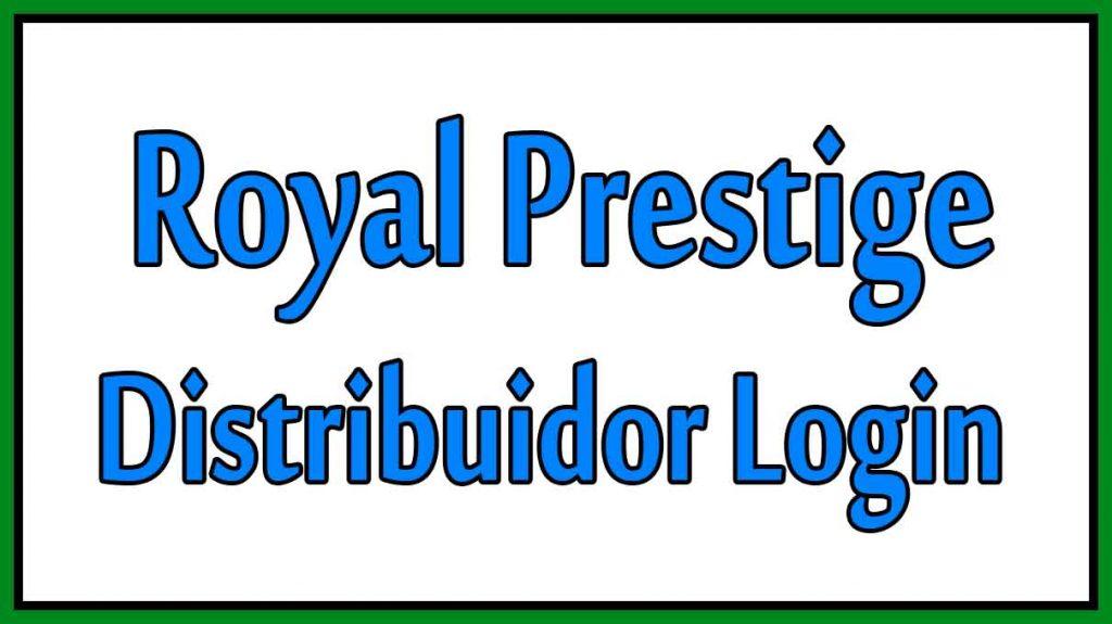 Royal Prestige Distribuidor Login